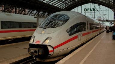 7 trains à grande vitesse ICE relieront chaque jour Bruxelles à l'Allemagne