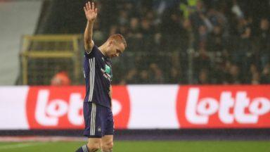 RSC Anderlecht : Adrien Trebel a enfin été opéré et devrait être indisponible jusqu'en janvier