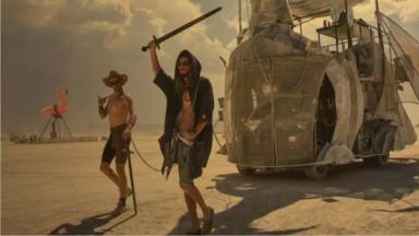 Burning Man : découverte photographique d'une cité nomade éphémère au Nevada