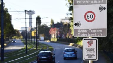 Trois nouveaux radars tronçons prochainement à Bruxelles