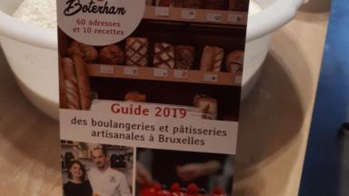 """""""Tartine et Boterham"""" sort un guide qui recense 60 boulangeries artisanales à Bruxelles"""