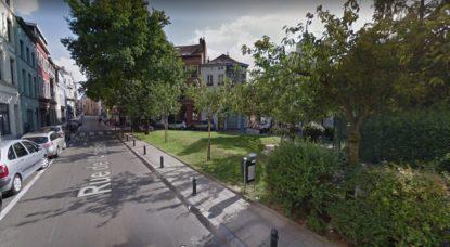 Ixelles - Rue Keyenveld et rue de l'Arbre Bénit - Google Street View