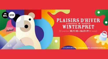 Logo - Plaisirs d'hiver 2018 - Ville de Bruxelles