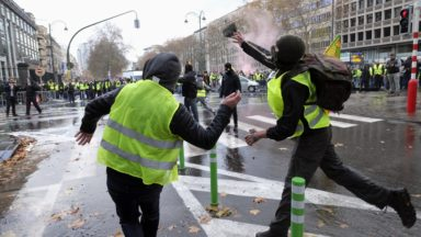 """Une peine de travail pour des violences lors d'une manifestation de """"gilets jaunes"""""""