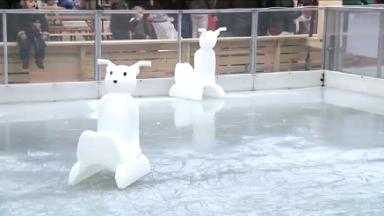 Le réchauffement climatique et la patinoire des Plaisirs d'Hiver ne font pas forcément bon ménage