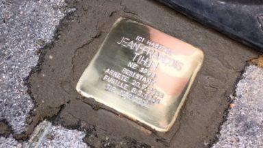 Des pavés de mémoire en hommage aux résistants de l'Enclos des Fusillés