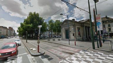 Bruxelles : un chauffeur du tram 51 agressé par deux personnes à la Porte d'Anderlecht