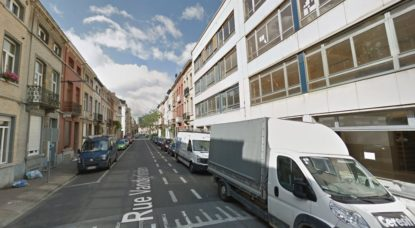 Rue Vanderlinden - Schaerbeek - Google Street View