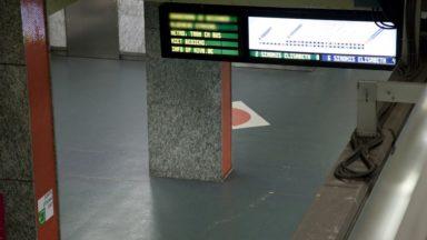 Sac suspect dans la station de métro Porte de Namur : la circulation a repris vers 11h30