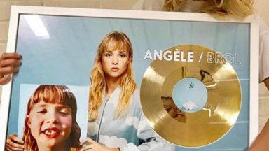 Angèle est disque d'or en Belgique et en France
