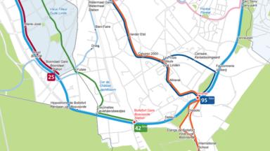 Watermael-Boitsfort: l'avenue des Coccinelles trop étroite pour les bus, les riverains et la commune s'en plaignent