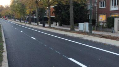 La circulation dans les deux sens a repris ce lundi avenue Franklin Roosevelt