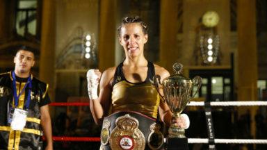 La boxeuse Sanae Jah, en route pour marquer l'histoire?