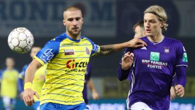 Anderlecht s'impose à Waasland-Beveren et reste 4e au classement