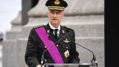 Le roi Philippe informé de l'évolution de l'épidémie au centre d'expertise Sciensano