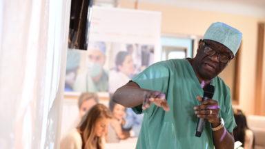 Hôpital Saint-Pierre de Bruxelles: le docteur Denis Mukwege a opéré une femme victime d'agression sexuelle