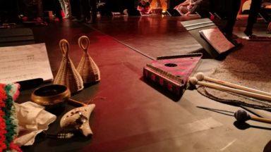 La pièce musicale de Mauricio Kagel résonne dans la Cité Modèle de Laeken