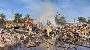 L'incendie de Forest est maîtrisé: aucun objet toxique incendié