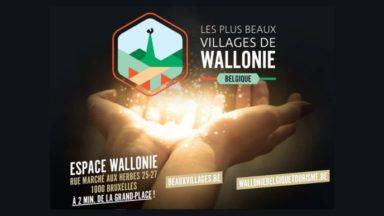 Les plus beaux villages de Wallonie s'exposent à Bruxelles