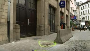 Un homme armé arrêté devant le commissariat central de la zone Bruxelles-Capitale-Ixelles