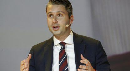 Bart Claes - Président Jongeren Jeunes Vlaams Belang - Belga Nicolas Maeterlinck