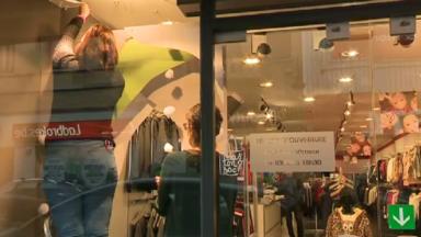 Un nouveau look pour les vitrines des magasins de la Rue Marie Christine