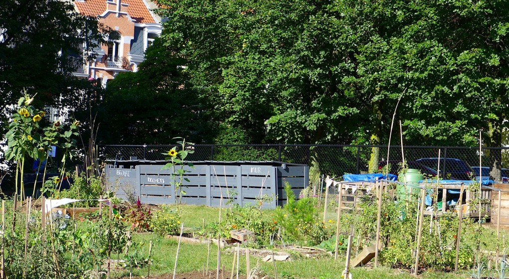Compost collectif Bruxelles - Belga Florence Marot