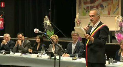 Conseil communal Watermael-Boitsfort - Bourgmestre Olivier Deleuze - 05122018