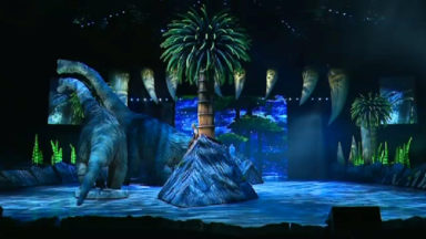 """""""Sur la terre des dinosaures"""" à Brussels Expo"""