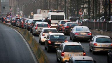 Toujours plus d'embouteillages sur les routes belges en 2018, annonce Touring
