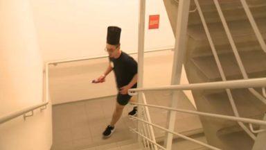 Stairs for Life : quand les sportifs (et moins sportifs) grimpent les escaliers de la Tour Belfius pour la bonne cause