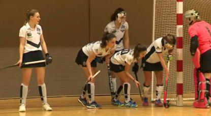 Hockey en salle - Division honneur dames - Parc Auderghem - 01122018
