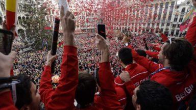 Les Red Lions susceptibles de remporter le trophée d'Equipe sportive belge de l'année