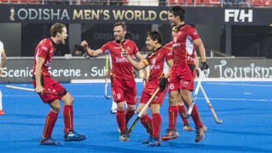 Hockey sur gazon : les Red Lions battent le Pakistan (5-0) et filent en quart de finale de la Coupe du monde