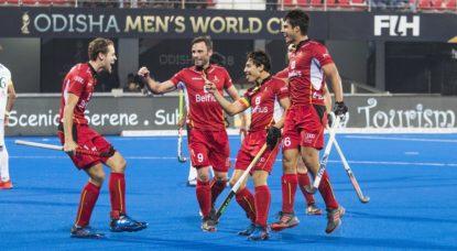 Hockey sur gazon - Belgian Red Lions Pakistan Coupe du monde 2018 - Belga Daniel Techy