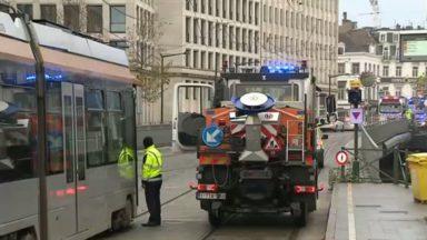Caténaires arrachées à Louise : les trams 8, 92, 93 et 97 ont repris leur route