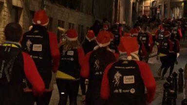 Près de 2 500 coureurs ont participé à la Manneken Pis Corrida ce mercredi