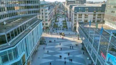 Une partie du piétonnier du centre-ville pourrait être rouvert temporairement à la circulation