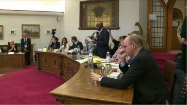 Ganshoren : premier conseil communal dans la bonne ambiance pour Pierre Kompany
