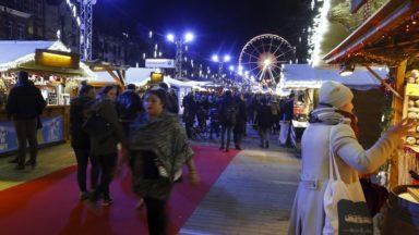 Au lendemain de l'attaque de Strasbourg, la sécurité est renforcée autour des Plaisirs d'hiver