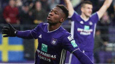 Division 1A : le RSC Anderlecht tenu en échec par Charleroi (1-1)
