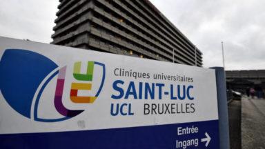 Les pompiers aux Cliniques Saint-Luc : un câble électrique en surchauffe