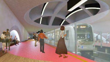 Le chantier de la station de métro Toots Thielemans a démarré