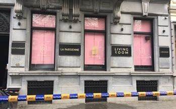 Des tirs contre une vitrine d'un restaurant ont été entendus ce matin Avenue Louise