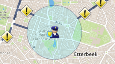 Le rassemblement des gilets jaunes cause des embarras de circulation à Bruxelles