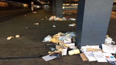 Situation à la gare de Bruxelles Nord : le bilan reste mitigé pour les chauffeurs de De Lijn