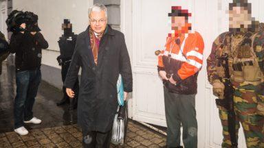 Didier Reynders est allé à la rencontre des militaires déployés en rue et à l'aéroport de Zaventem