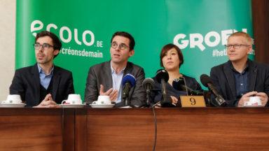 Crise politique: Ecolo-Groen déposera une motion de recommandations