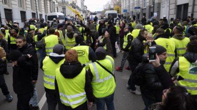 Une cinquantaine d'arrestations en amont de la mobilisation à Bruxelles