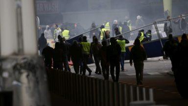 Gilets jaunes: 10 arrestations judiciaires durant la manifestation